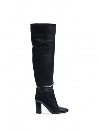 APAIR BOOTS VITELLO LONG CLASSIC BLACK